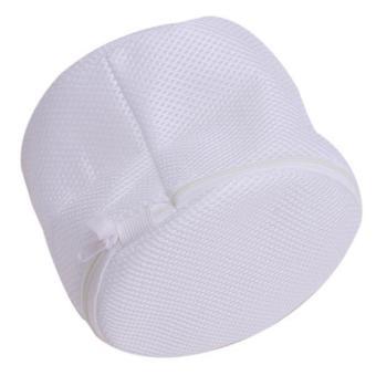 Ai Home Bersih Laundry Cuci Tas Pakaian Tas Jaring Jala BH Putih - 4