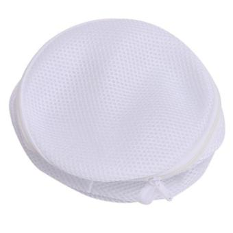 Ai Home Bersih Laundry Cuci Tas Pakaian Tas Jaring Jala BH Putih - 2