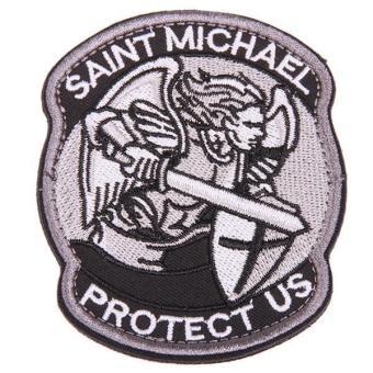 Ai Home Saint Michael Tactical Badge Morale Velcro Military Patch