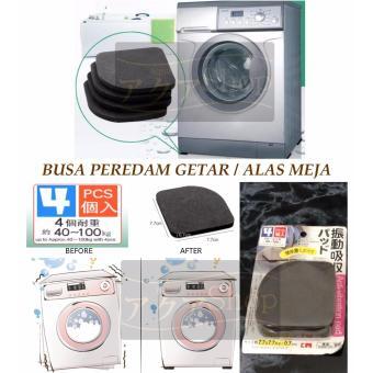 Alas / penyangga mesin cuci anti / peredam getaran (isi 4pcs)