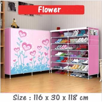 Allunique Rak Sepatu Double Layer Karakter - Flower, Price Check. 4Pcs Baby Safe Desk Table Corner Security ...