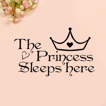 Amart manis stiker dinding Princess dekorasi kamar tidur di stikeryang bisa dilepas - Internasional - 2