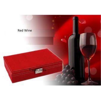 Anekaimportdotcom Jewellery Box / Kotak Perhiasan dan Aksesoris /Tempat Perhiasan A204 - Red Wine - 2