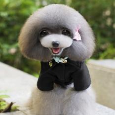 Anjing Kecil Yang Hangat Dan Jaket Wol Lapisan Pakaian Anak Pakaian Peliharaan Kucing