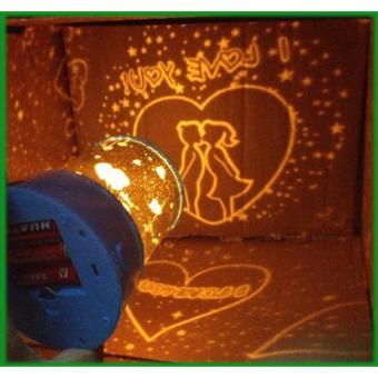 Apstore Lampu Proyektor Star Master Love / Lampu Hias / Lamp Projector / Lampu Tidur Motif ...