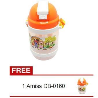 Arniss Farmer DB-0160 Orange Botol Minum + Gratis Arniss FarmerDB-0160 Orange Botol Minum