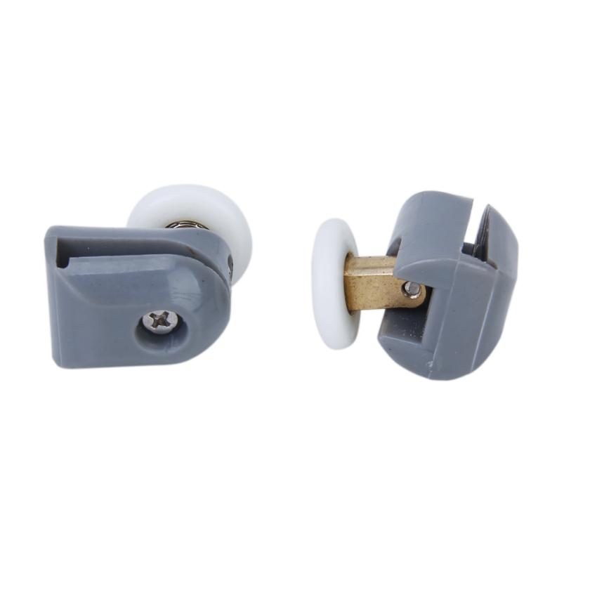 Atas dan bawah pintu mandi roller tapak roda 25 mm Diameter .