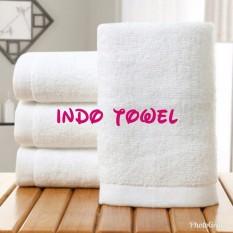 Bath Towel / Handuk Mandi Hotel Putih Full 100% Premium Katun 60cm x 120cm