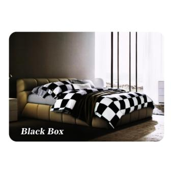 Bed cover set Fata Minimalis Modern ukr queen 160 / king 180 BlackBox