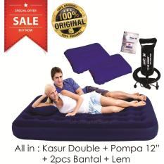 Bestway Kasur Angin Double + Pompa Angin 12