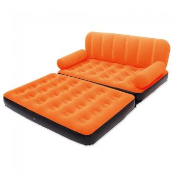 Bestway Sofa Bed 2 In 1 Double - Sofa Multifungsi - 67356 - Oranye