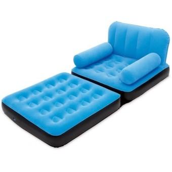 Bestway Sofa Bed 2 In 1 Single - Sofa Multifungsi - 67277 - Biru
