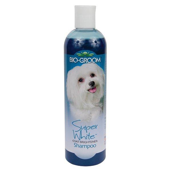 Bio-groom Super White Coat Brightener Shampoo - 355ml