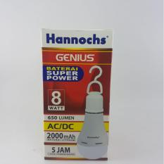 Lampu Led Emergency/Darurat/Cas/Magic 10 Watt Hannochs GeniusIDR81000. Rp 85.000