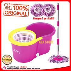 Bolde Super Mop M-168X+ Pel Lantai - Pink