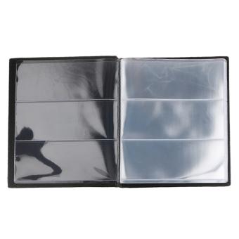 BolehDeals 20 lembar uang kertas mata uang pemegang buku Albumkoleksi uang kertas hitam #A ...