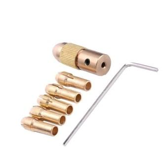 BolehDeals 7 Piece 0.5-3mm 2.35mm Mini Electric Drill Bit ColletTwist Drill Chuck Set