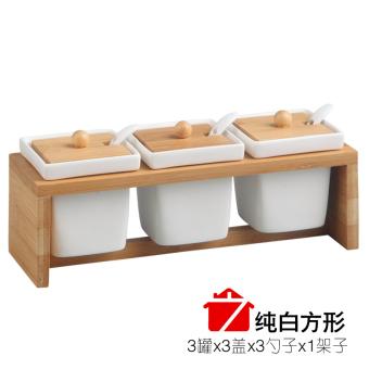 harga Botol bumbu toples keramik kotak bumbu Lazada.co.id