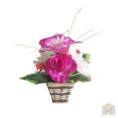 Bunga artificial rangkai