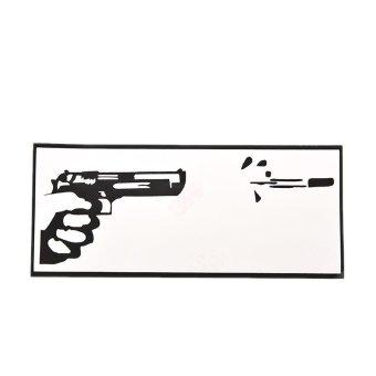 Buytra Gun Vinyl Decal Sticker Skin for Laptop