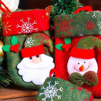 Christmas Ornaments Hanging Christmas Socks - intl - 4