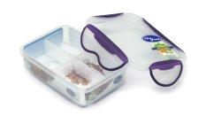 ... Clip Fresh Classic Box Set 6 Buah Transparanlid Violet Daftar Source Clip Fresh Plastic Rectangular Food