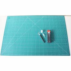 [Craft Sets] Cutting Mat A1 Double Sided & Pen Type Cutter SDI