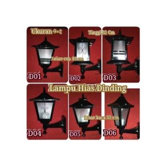 harga Cup Lampu Hias Dinding Pilar Dan Taman Lazada.co.id