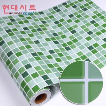 Dapur ubin kamar mandi kamar mandi stiker tahan air wallpaper