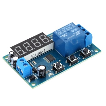 Harga Delay Time Module Switch Control Relay Cycle Timer DC 12V - intl