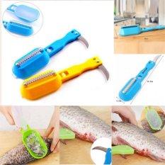 diva-Davi Alat pembersih sisik ikan + pisau ikan