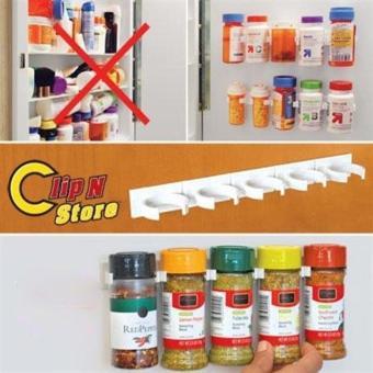 Detail Gambar Doorhook Kitchen Cabinet Door Hooks Spice Wall Rack Storage size:3case - intl dan Variasi Modelnya