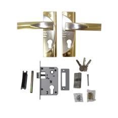 EELIC HAP-B5006 Handle Pintu Metal Kuningan Untuk Pintu Kayu Desain Simpel Dan Minimalis