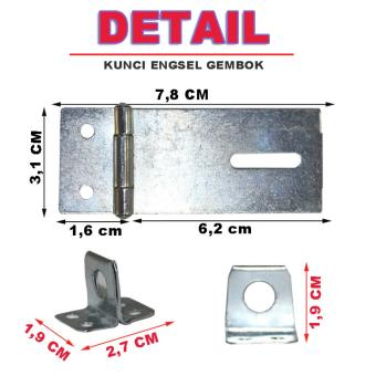 Eelic Grp Sl6if Grendel Pintu Terbuat Dari Bahan Metal Source · EELIC KEG 2 5IF 4