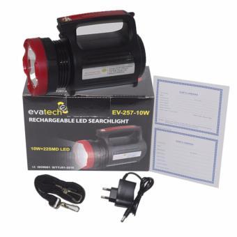 ... EELIC LAS L257 Lampu Senter 10 W 22 SMD LED Emergency Lampu Darurat Rechargeable