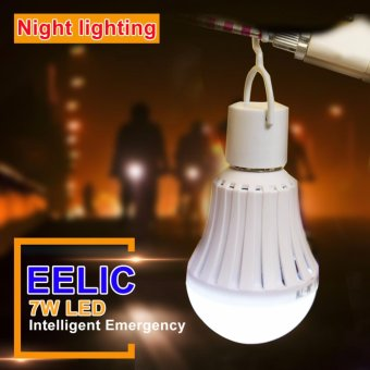 EELIC LED LAU-E7W Isi 5PC 220V E27 Lampu Intelligent EmergencyDarurat - 5