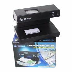 Eelic Mod-M2138 Money Detector Alat Pendeteksi Uang Palsu