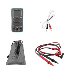 ERA ZT102 Digital Multimeter 6000 Counts Backlight AC DC Meter Ammeter .