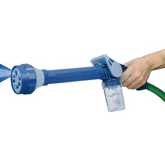 Ez Jet Water Cannon - Alat Semprot Air with 8 Built - Biru ...
