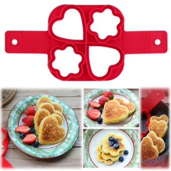 Fantastic Fast & Easy Way To Make Perfect Cooking Four HolesDIY Pancakes Tool - intl