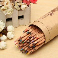 Fine Art 48 Warna Marco Menggambar Basis Minyak Pensil Beracun Set Sketsa ArtisIDR184000 .