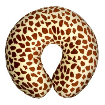 FIO ONLINE - Bantal Mobil Travel - Bantal Leher - Leopard Macan
