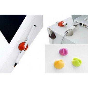 Detail Gambar Flextreme Cable Clips - Merapikan Kabel yang berantakan dan Variasi Modelnya