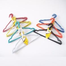 Gantungan Baju / Hanger Kawat Lapis Plastik