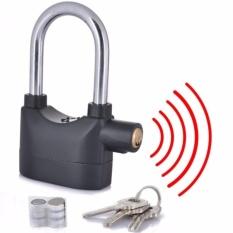 Gembok Alarm Anti Maling - Free Baterai Cadangan