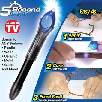 Glow shop - Lem Ajaib Power Tool 5 Second Fix Magic Glue + GratisFix It Pro Pen - Spidol Penghilang Lecet - 1 Pcs - 2