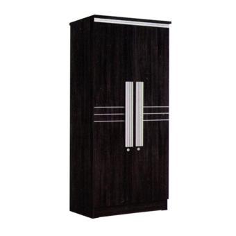 Graver Furniture Lemari Pakaian 2 Pintu LP 8295 .