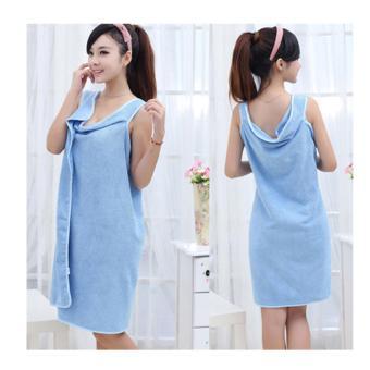 Fang Fang Womens Girls Magic Hair Drying Towel Hat Cap Head Wrap Quick Dry Bathing Tool Blue - Daftar Update Harga Terbaru Indonesia