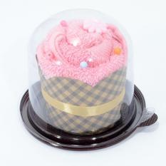 Handuk Souvenir Cake - Pink