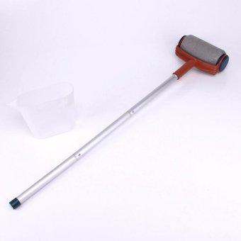 HengSong Multi-function Handle Paint Roller Set Painting Brush Point N Paint Household Decorative Tool(White+Orange) - intl - 5